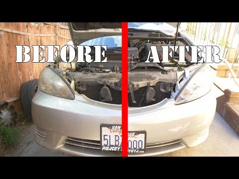 2001-2005 Toyota Camry Headlight assembly replacement