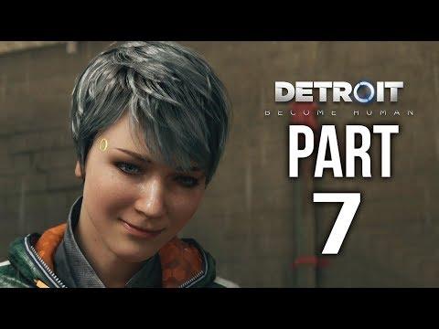 DETROIT BECOME HUMAN  Gameplay Walkthrough Part 7 | Makeover