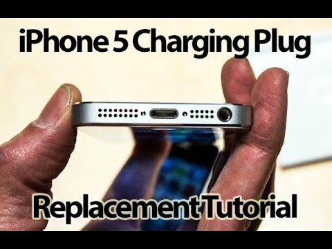 iPhone 5 Charging Port Replacment