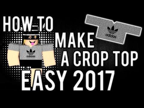 *EASY* Shirt Tutorial | ROBLOX 2017 (VOICED)