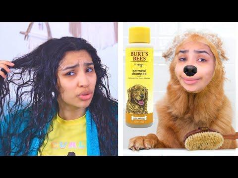 I Tried Dog Shampoo 🐶 (yes i am serious)