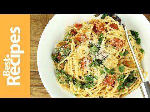 Springtime Pasta - BestRecipes with Drew Maresco