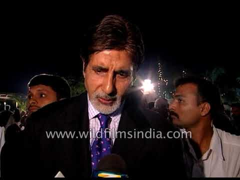 Amitabh Bachchan at the release of 'Raj Kapoor Speaks'