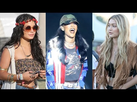 10 Best Dressed Coachella Celebs Of All Time