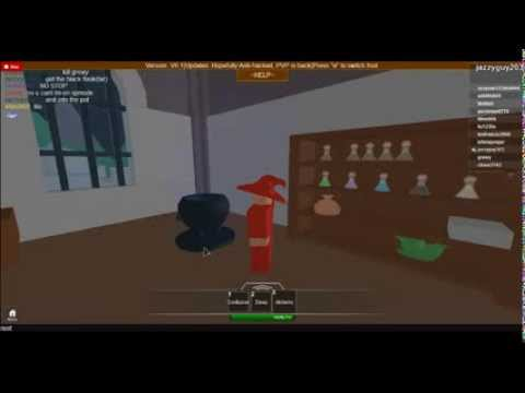 How To make magic potions in Kingdom Life 2(ROBLOX) Part 1/2