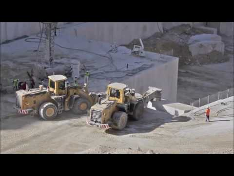 How Granite and Marble slabs are made
