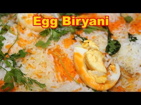 Egg Biryani | Mana Telangana Vantalu