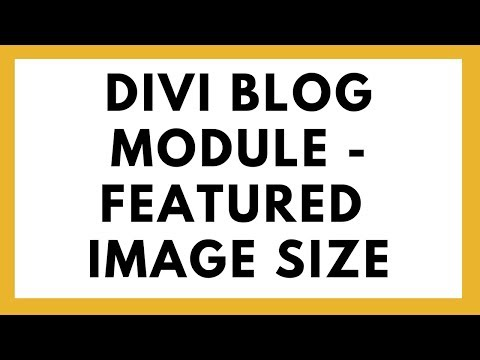 Correct size for featured image in blog module