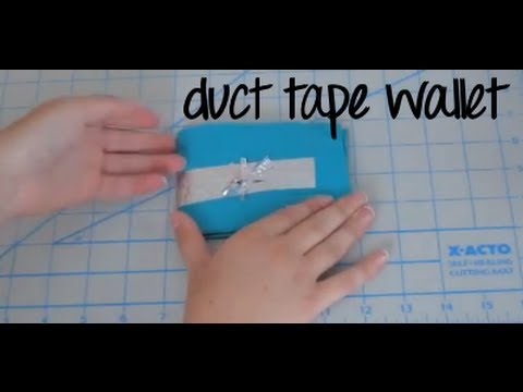 Duct Tape Wallet