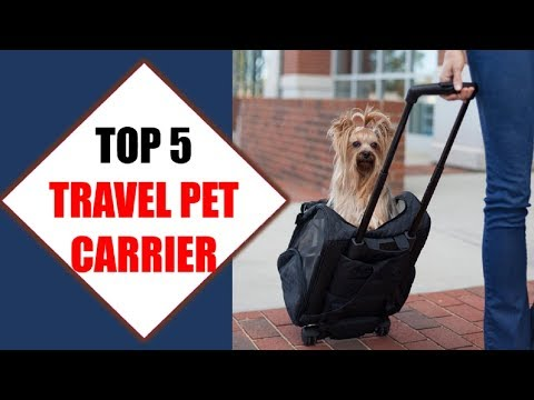 Top 5 Best Travel Pet Carriers 2018 | Best Travel Pet Carrier Review By Jumpy Express