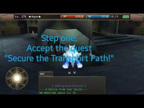 Iruna Online - Yarde quest with Aqua