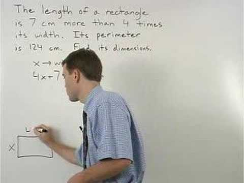 Perimeter Word Problems - MathHelp.com - Geometry Help
