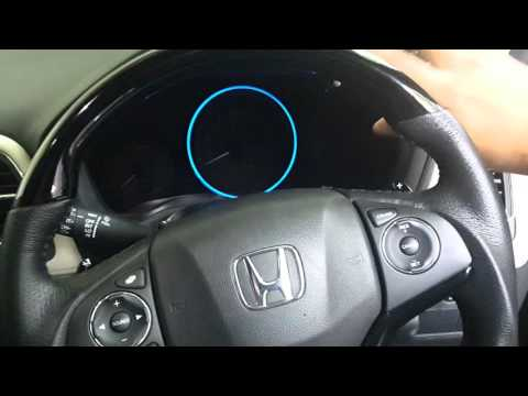 Changing Honda HRV's Speedometer ring color