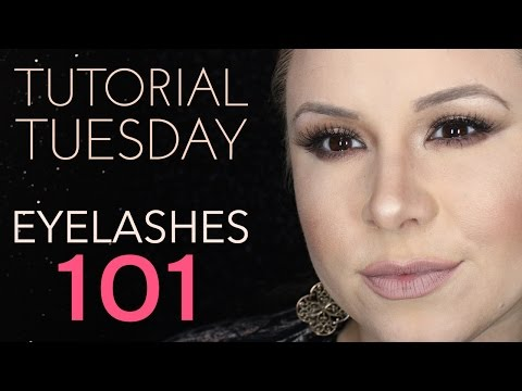 Tutorial Tuesday - Eyelashes 101