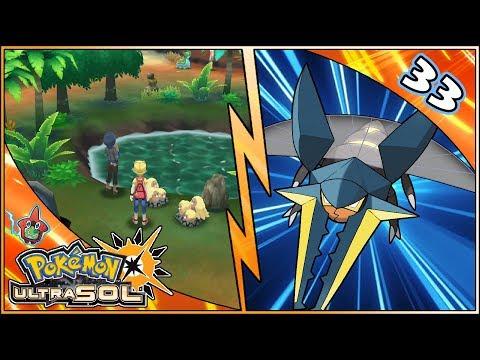 ♦️ Guía Pokémon UltraSol ♦️ #33 ▪️ Monte Rubor - Playa Ula-Ula - Ruta 13 - Aldea Tapu