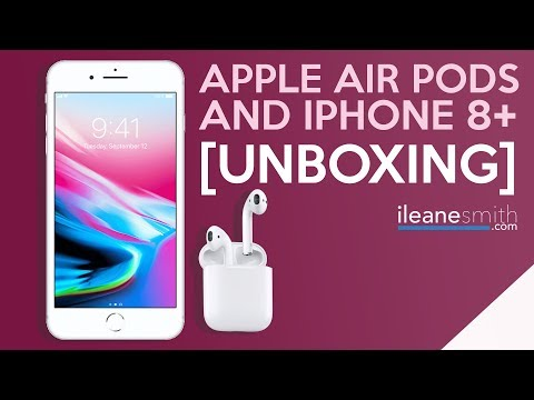 Get Ready for a New Year with New Gear [iPhone 8+ and Air Pods]