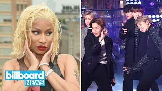 Will BTS Collab With Conan Gray? Minaj Tops the Charts, Three R&B Legends Pass Away | Billboard News
