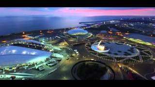Олимпийский парк с высоты птичьего полета! Смотреть всем!