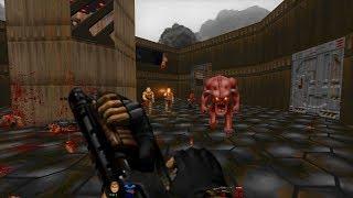 2002 A Doom Odyssey | E3M2: Caves of Bosnia [Brutal Doom