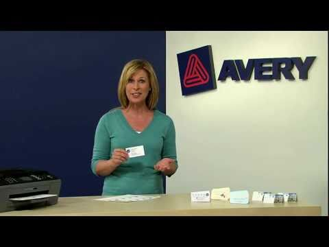 Build Your Brand with Avery® Clean Edge Business Cards