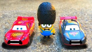 Minions Despicable Me 3 Movie Blind Bag Surprise Toys, Cars 3 Lightning McQueen Race Mini Kids Movie