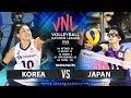 Korea Vs Japan Highlights Womens VNL 2019