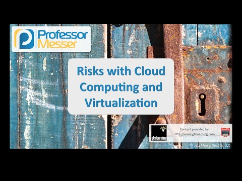 Risks with Cloud Computing and Virtualization - CompTIA Security+ SY0-401: 2.1