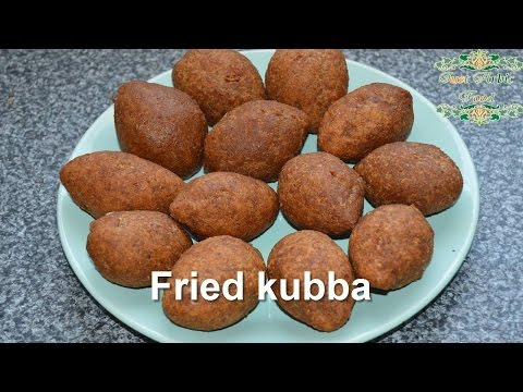 fried kubba - Syrian recipe - just Arabic food