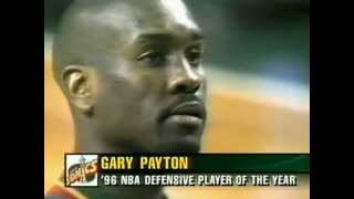 Gary Payton Guards Michael Jordan (26pts) ('96 Finals, Game 5)