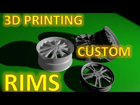 3D Printing RIMS (Design and print result)