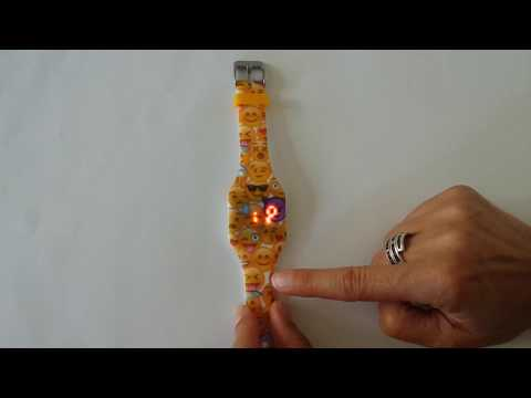 KI102XX Digital LED watch   How to set Time and Date