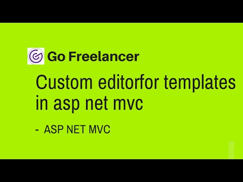 custom editorfor templates in asp net mvc