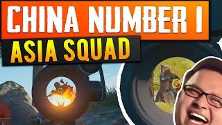 # China Number 1! - Bestes Asia Squad (playerunknowns Battlegrounds)
