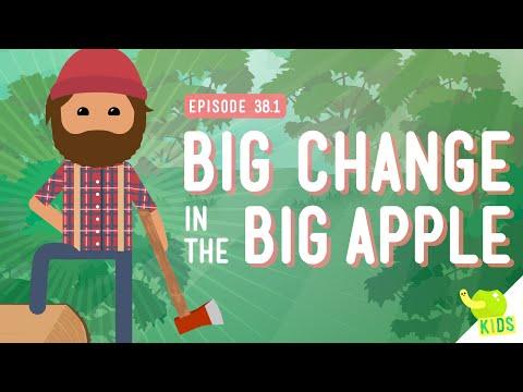 Big Changes in the Big Apple: Crash Course Kids #38.1