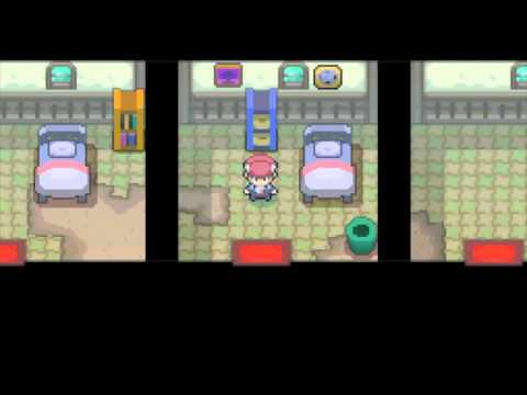 Pokemon Platinum HOW TO CATCH GENGAR + all The Items In The Old Chateau