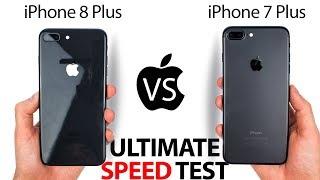 iPhone 8 Plus vs 7 Plus - The ULTIMATE SPEED Test!