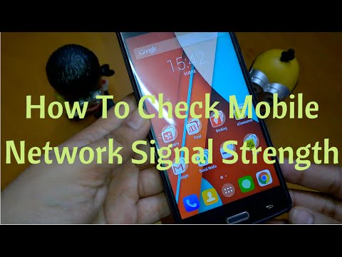 How To Check Mobile Network Signal Strength on Android (Non Rooted Device)