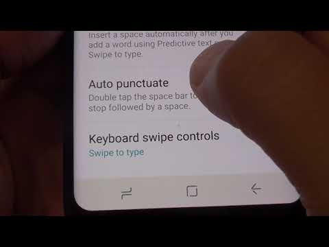 Samsung Galaxy S8: How to Reset the Keyboard Settings
