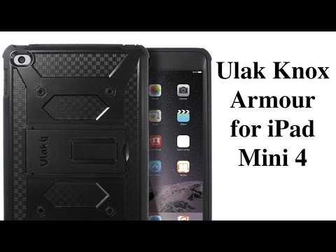 Ulak Knox tough armour case for iPad Mini 4