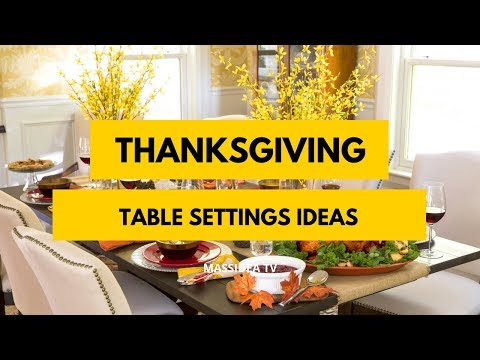 65+ Best Thanksgiving Table Settings Ideas & Decor