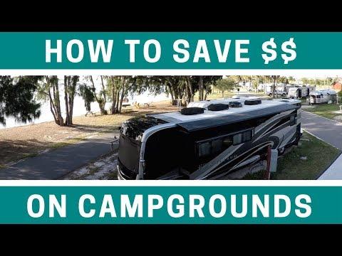 Saving Money on RV Campgrounds