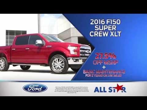 All Star Ford - July 2016 Commercial - Ford Freedom Sales Event