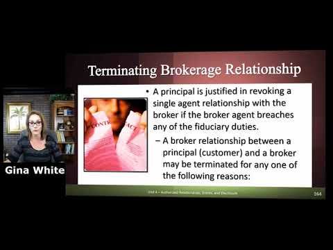 Terminating A Brokerage Relationship