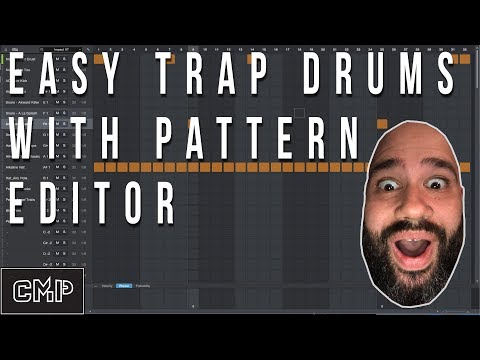 How to Make Trap and Hip Hop Drums FAST with Pattern Editor   Presonus Studio One Tutorial