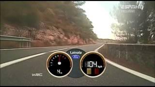 WRC  Onboard Jari-Matti Latvala - RACC-Rally de Espana 2011 Day 2