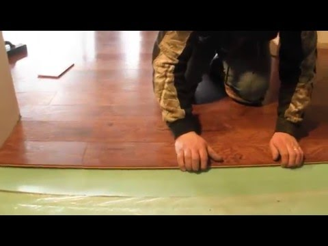 How to install laminate- advanced measuring, cutting and installing