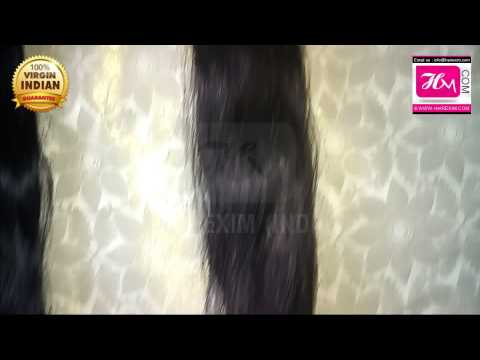 Indian Human Hair Company Wholesale Human Hair Extensions Machine Wef