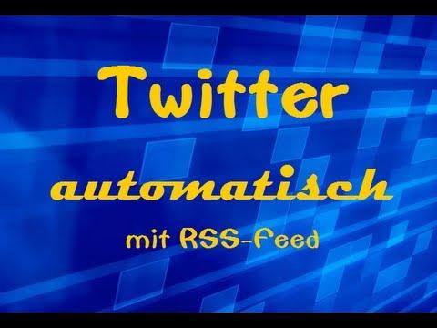 Twitter automatisch mit RSS-Feed