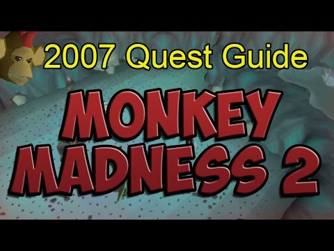 Runescape 2007 Monkey Madness 2 Quest Guide