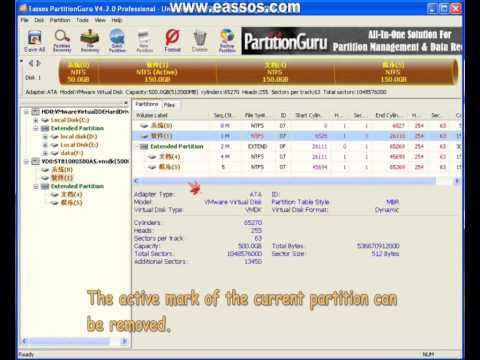 Mark Partition As Active.wmv